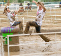 Johnson County Co-ed Pig Wrestling